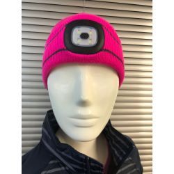 Platinum Junior Vision LED Beanie Pink