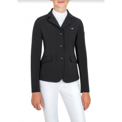 Equiline Carolink Girls Competition Jacket Blue