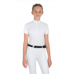 Equiline Jupiter Girls Competition Shirt White