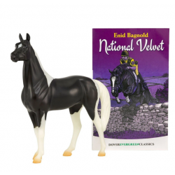 Breyer Classics National Velvet Horse And Book Set
