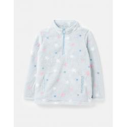 Joules Merridie Girls Printed Fleece Blue Stars