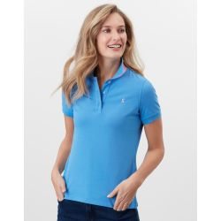 Joules Pippa Ladies Polo Shirt Whitby Blue