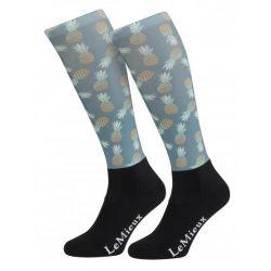 LeMieux Footsie Sock Pineapples Junior