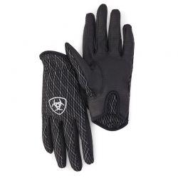 Ariat Cool Grip Glove Black White