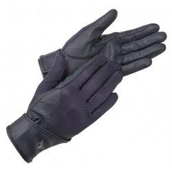 LeMieux Mesh Riding Gloves Navy