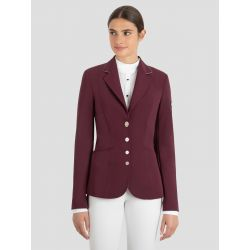 Equiline Gwen Ladies Competition Jacket Plum
