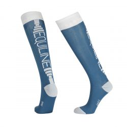 Equiline Corey Unisex Socks Seaport Blue