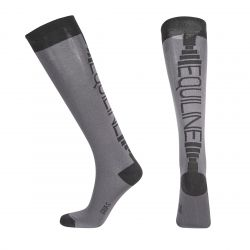 Equiline Corey Unisex Socks Night Grey