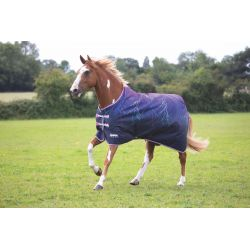 Shires Tempest Original Lite Turnout Rug Purple Lightening