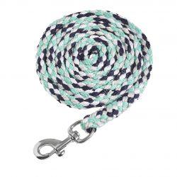 Schockemohle Sports Catch Style Lead Rope Dark Blue Opal