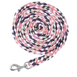 Schockemohle Sports Catch Style Lead Rope Mauve Oxi Fire