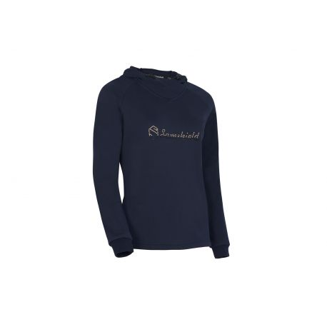 Samshield Lilly Ladies Hooded Sweatshirt Navy