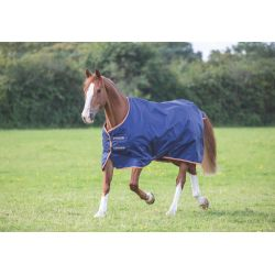 Shires Typhoon 100 Turnout Rug Navy