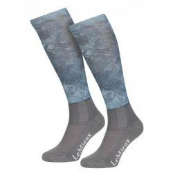LeMieux Glacé Socks Sage Junior