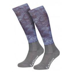 LeMieux Glacé Socks Navy Junior