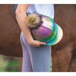 Shires Metallic Hat Cover