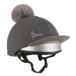 LeMieux Hat Silk Slate Grey