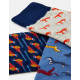 Joules Striking Mens Three Pack Cotton Socks Multi Animal
