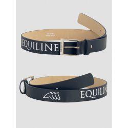 Equiline Chisey Leather Belt Blue