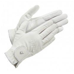 LeMieux Classic Riding Glove White