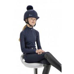 LeMieux Young Rider Hat Silk Indigo