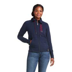 Ariat Team Logo Full Zip Ladies Sweatshirt