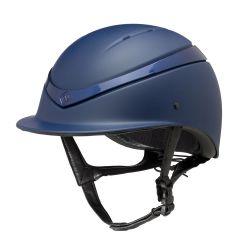 Charles Owen Luna Riding Helmet Navy Gloss