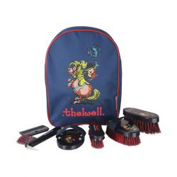 Hy Equestrian Thelwell Complete Grooming Kit Rucksack
