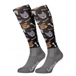 LeMieux Footsie Sock Dogs Junior
