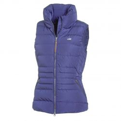 Schockemohle Sports Malia SP Style Quilted Ladies Vest Jeans Blue