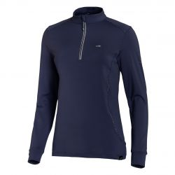 Schockemohle Sports Winter Page SP Style Ladies Functional Shirt True Navy