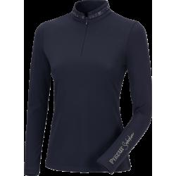 Pikeur Norea Ladies Zip Shirt Dark Navy