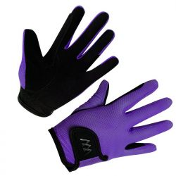Woof Wear Young Riders Pro Glove Ultra Violet