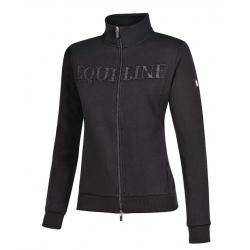 Equiline Giliag Ladies Full Zip Sweatshirt Black