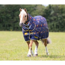 Shires Tikaboo 100 Turnout Rug Horse Print