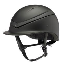 Charles Owen Luna Riding Helmet Black Matt