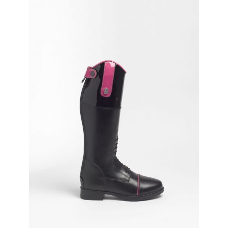 Brogini Ginny KBPT - Laced Front Kids Boot Patent Top