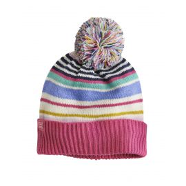 Joules Junior Elsa Bobble Hat