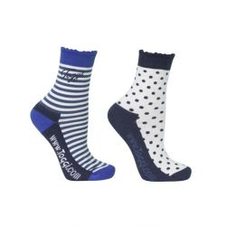Toggi Zera Ladies Two Pack Shorter Length Socks