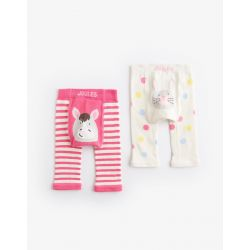 Joules Baby Lively Girls Twin Pack Leggings