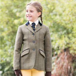 Equetech Junior Stowe Deluxe Tweed Jacket
