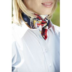 Toggi Team GBR Ladies Printed Silk Scarf Belton