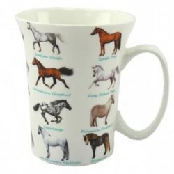 Grays Horse Mug Trumpet Shape