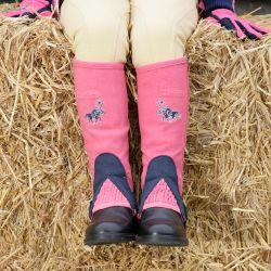 Tuffa Shetland Amara Childrens Half Chaps