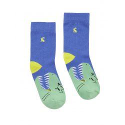 Joules Junior Eat Feet Boys Dino Character Socks