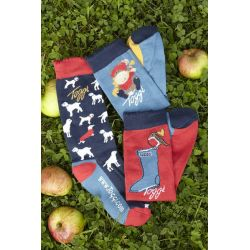 Toggi Addison Childrens Three Pack Of Socks